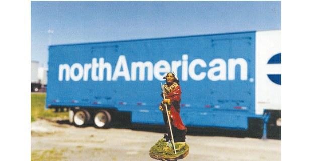 """Norteamericano (indio)"", 2005. Foto: Jeffrey Thomas (iroqués/onondaga)"