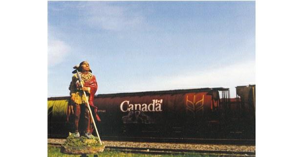 "Norteamericano (indio)"", 2005. Foto: Jeffrey Thomas (iroqués/onondaga)"