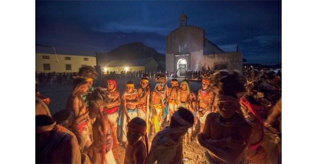 Semana Santa en Norogachi, Sierra Tarahumara, Chihuahua, 2009. Foto: José Carlo González