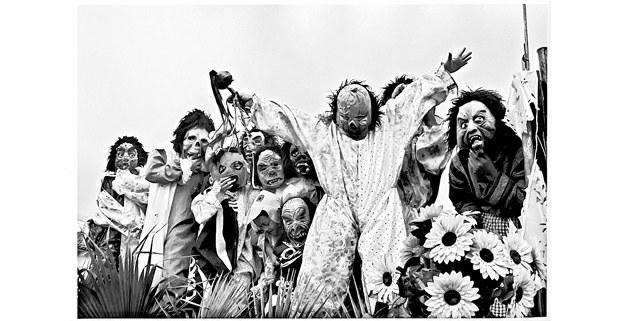 De fiesta, San Miguel Arcángel, Huixtán, Chiapas, 2003. Foto: Raúl Ortega