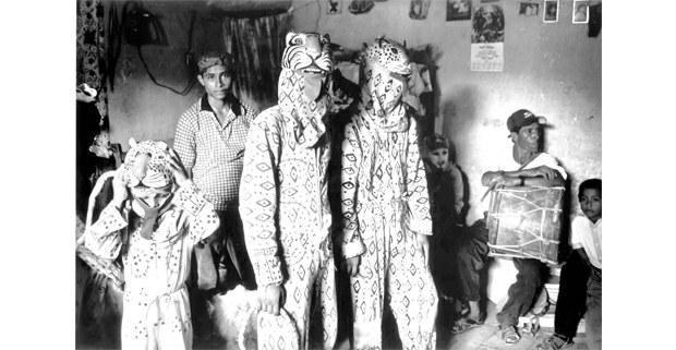 De fiesta, Corpus Christi, Suchiapa, Chiapas, 2003. Foto: Raúl Ortega