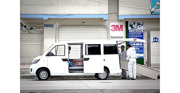Guayaquil, Ecuador, abril de 2020. 6 Foto: Iván Castaneira