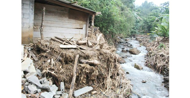 Daños de huracán Eta en Acambak, Chapultenango, Chiapas, 2020. Foto: Se Osomajtli Tzawi