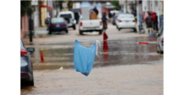 Inundaciones en San Cristóbal de Las Casas, octubre de 2020. Foto: Alan Diddier Fuentes Canales