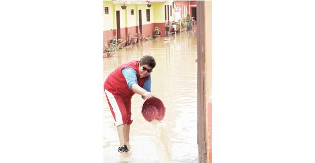Inundación en San Cristóbal de Las Casas, Chiapas, octubre de 2020. Foto: Alan Diddier Fuentes Canales