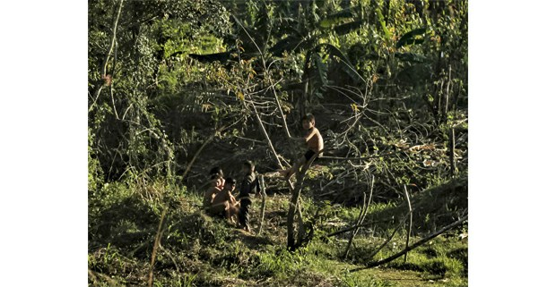 Tranquilidad en Nueva Pantelhó. Ocosingo, Chiapas. Foto: Mario Olarte