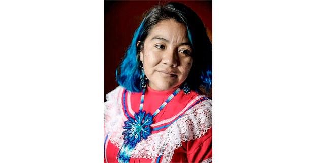 Selene Galindo, escritora, traductora, fotógrafa y antropóloga o'dam korian kam de Mezquital, Durango