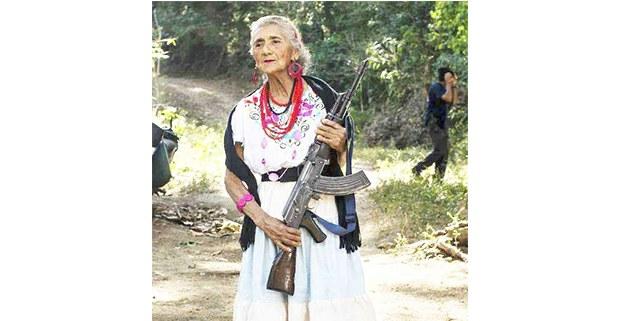 Imagen de la página de Facebook de la Policía Comunitaria de Ostula.