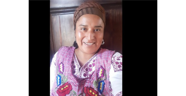 Raquel Diego Díaz, antropóloga, autora y emprendedora ayuuk de Tlahuitoltepec Mixe, Oaxaca. Foto: Bernardo Pérez